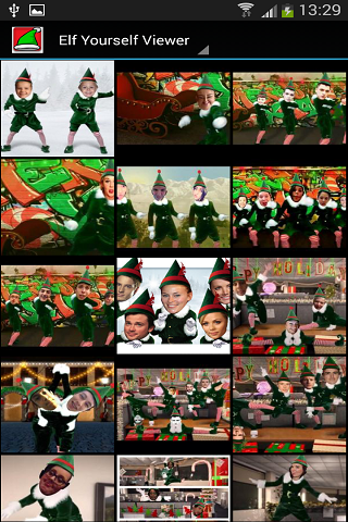 Elf Yourself Viewer - screenshot