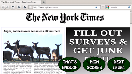 Elk Murder- screenshot thumbnail