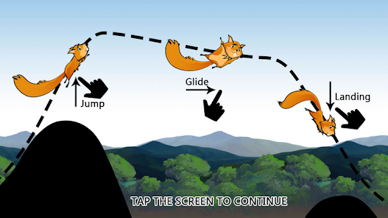 Squirrel Gliding- screenshot thumbnail