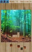 Screenshot of Forest Jigsaw Puzzles