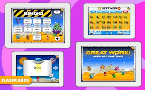 Sight Words Learning Games- screenshot thumbnail