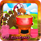 Cook games for kids - turkey