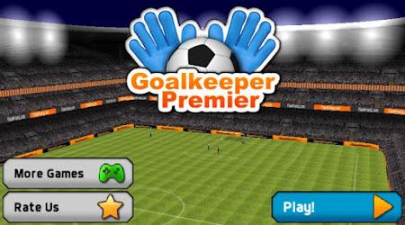 Goalkeeper Premier Soccer Game 1.08 screenshot 644327