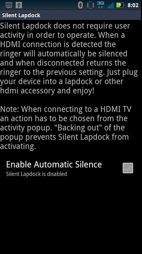Silent Lapdock (And HDMI) - screenshot