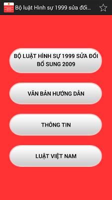 Bộ luật Hình sự Việt Nam 2015 - screenshot