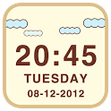 LiveCloud Clock Widget icon