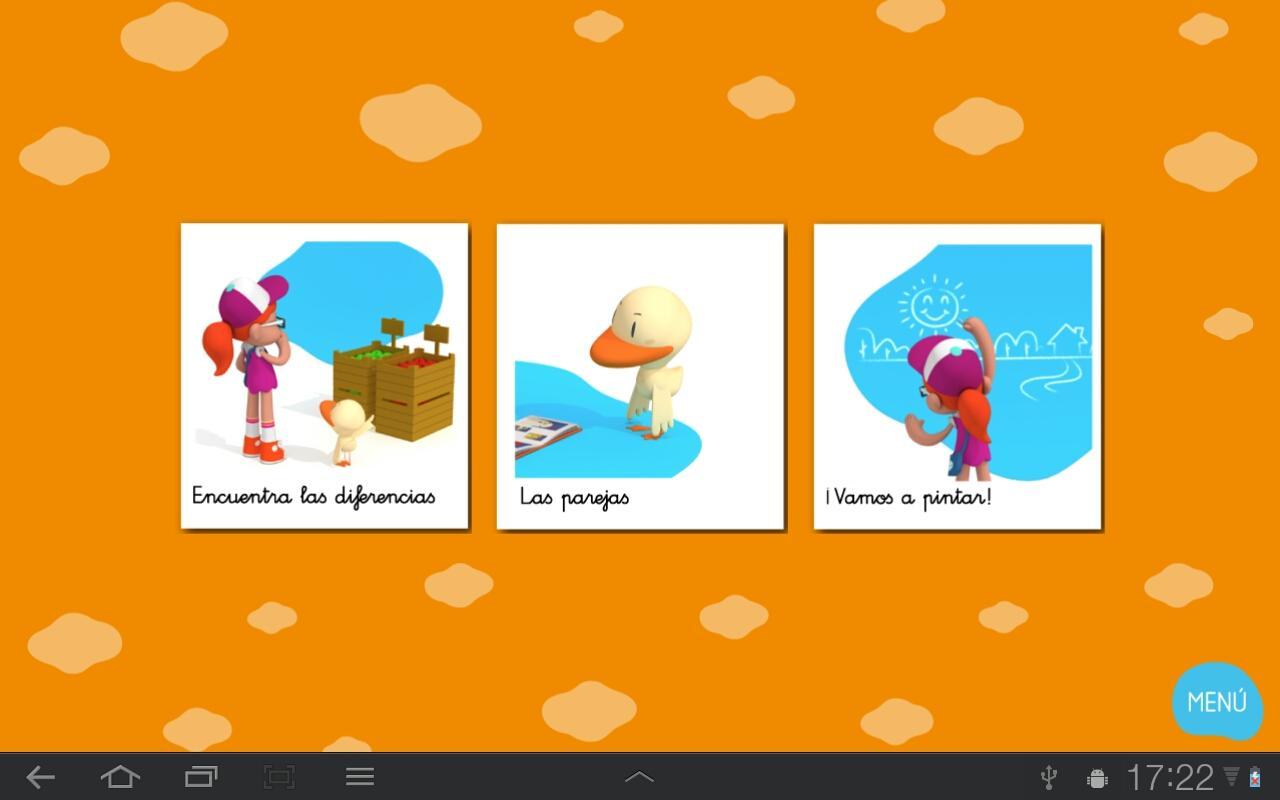 Mica y Pato: captura de pantalla