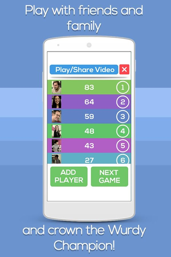 Wurdy - Social Party Word Game- screenshot
