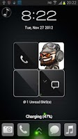 Screenshot of Friend Four Free Locker theme