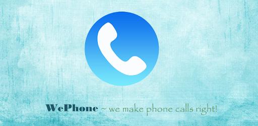 wephone free phone call apk download
