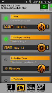 SureFire Alarm Clock - screenshot thumbnail