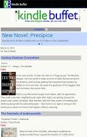 Screenshot of Free Kindle Books Daily Alert
