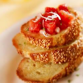 Tomato-Cheese Bruschetta