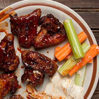 Fiery Oven-Baked Chicken Wings.