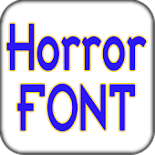 Horror font pack for Galaxy