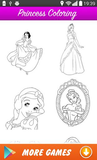 Kızlara Prenses Boyama
