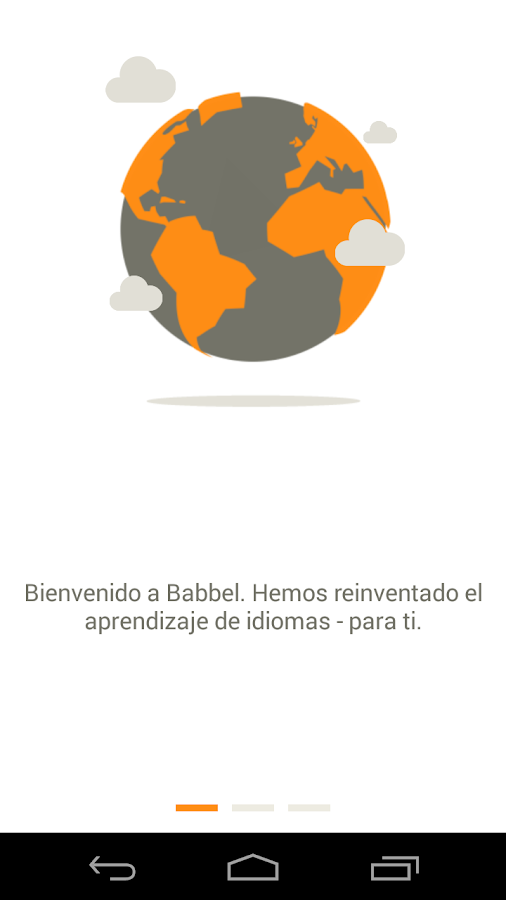 Learn English with Babbel- screenshot