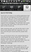 Screenshot of Quick Poll Pro