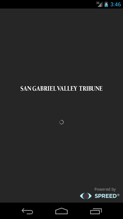 San Gabriel Valley Tribune - screenshot