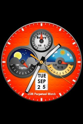 Perpetual Watch Wallpaper 2- screenshot