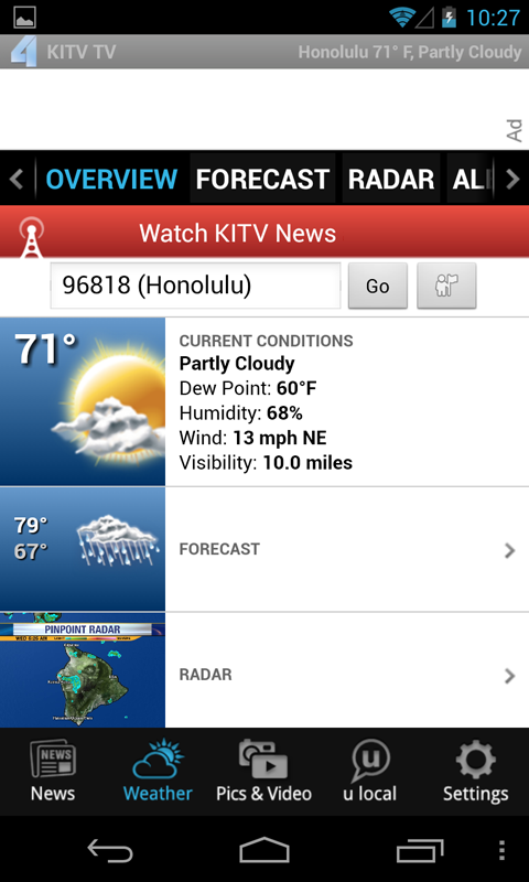 KITV - Honolulu News, Weather - screenshot