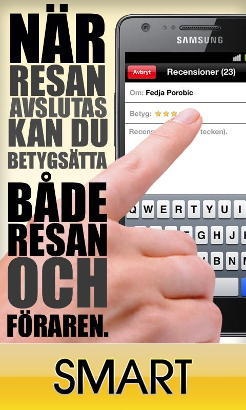 Taxi Smart - Stockholm - screenshot