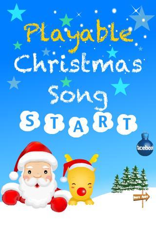Playable Christmas Song