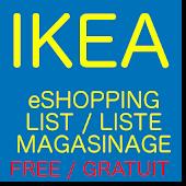 Liste Magasinage Ikea Gratuit