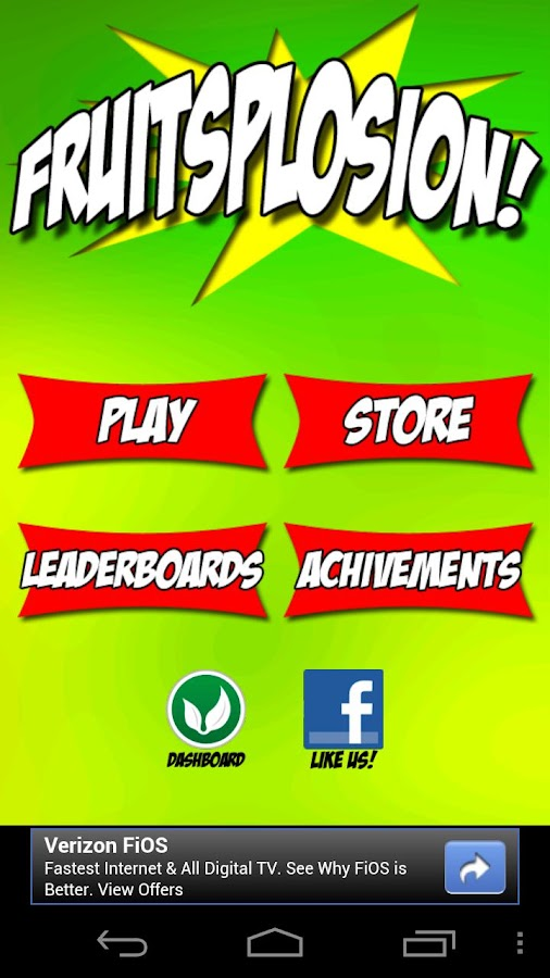 Fruitsplosion - screenshot