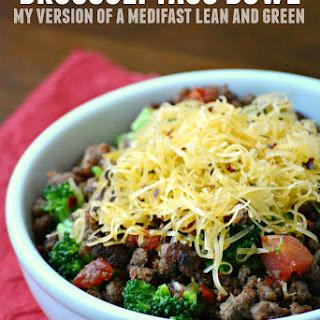 Broccoli Taco Bowl