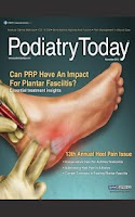 Screenshot of Podiatry Today