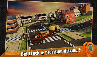Screenshot of Transport Trucker 3D