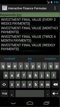 Finance Formulas PRO