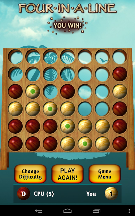 Four In A Line Free – Screenshot