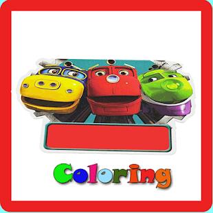 Chuggington coloring books