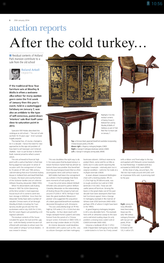 Antiques Trade Gazette - screenshot