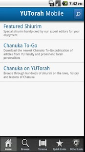 YU Torah- screenshot thumbnail