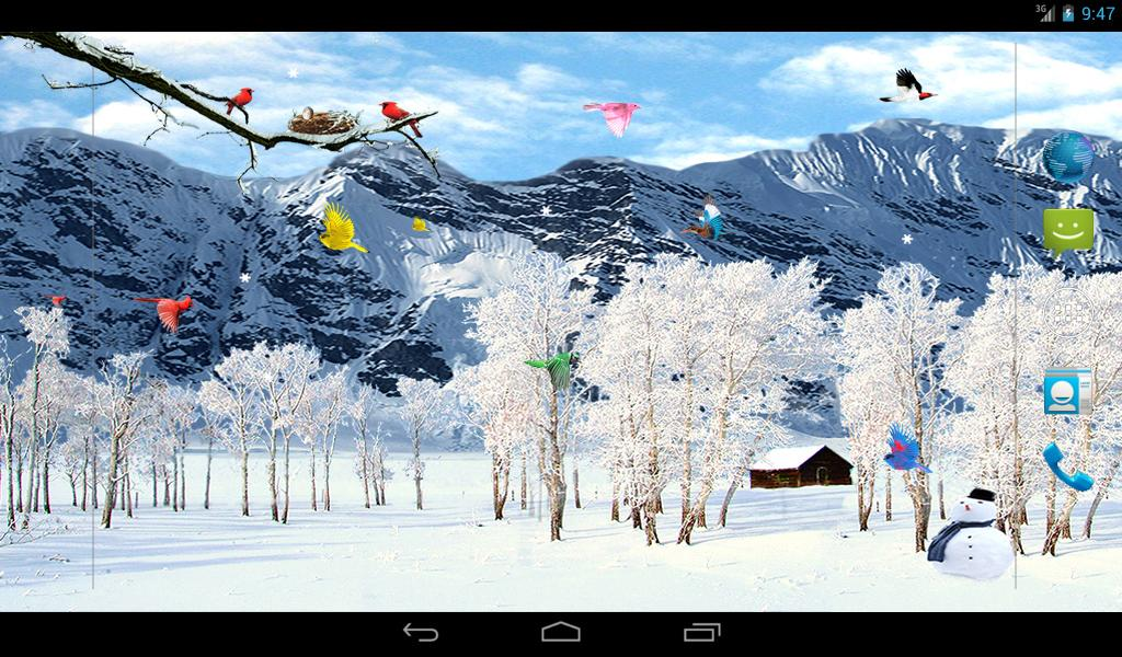 Sky Birds Live Wallpaper- screenshot
