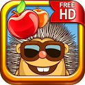 Hedgehog – Lost apples icon