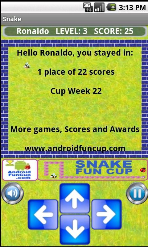 Snake Fun Cup - Multiplayer - screenshot