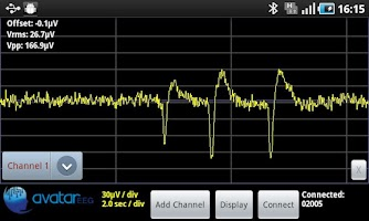 Screenshot of Avatar EEG