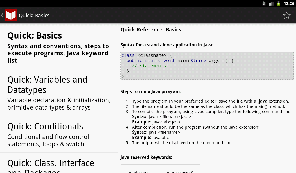 Java, C++, ASM Programs & Ref - screenshot