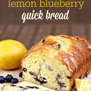 Lemon Blueberry Bread From Cake Mix Recipes.