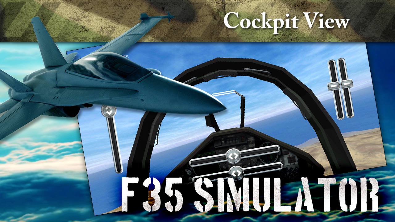 F35 Jet Fighter 3D Simulator- screenshot