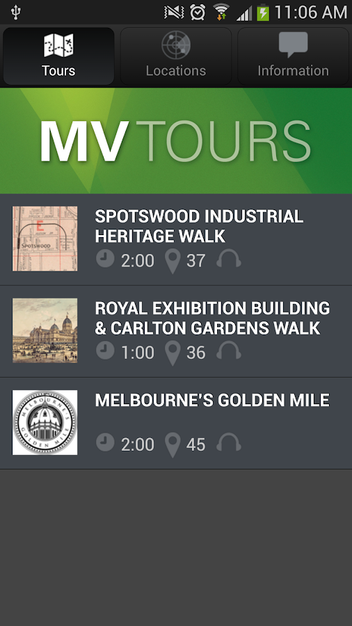 MV Tours: Walk Through History - screenshot