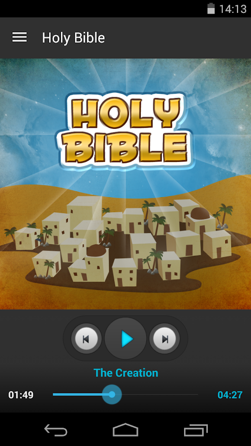 Holy Bible - Audio Book Ed.- screenshot