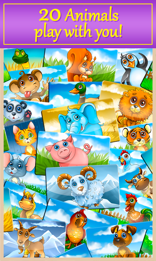 Kids baby phone with animals- screenshot
