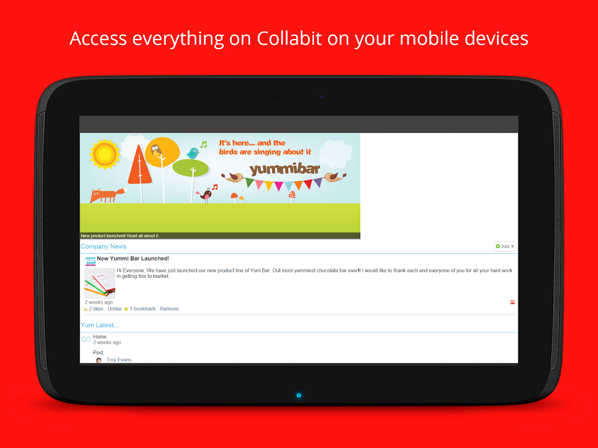 Collabit- screenshot