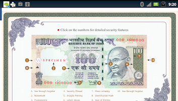 Screenshot of Rupee Info