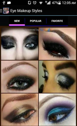 眼部化妝樣式